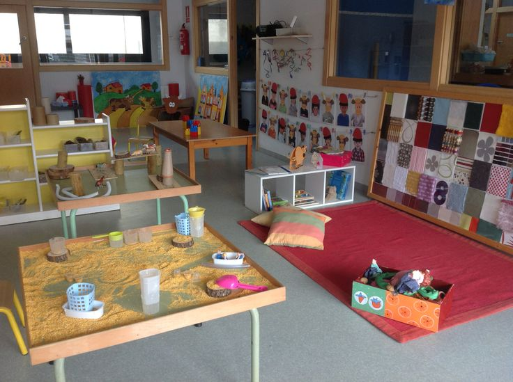 El rac d 39 en patufet re inspired classroom playful for Space fabric nz