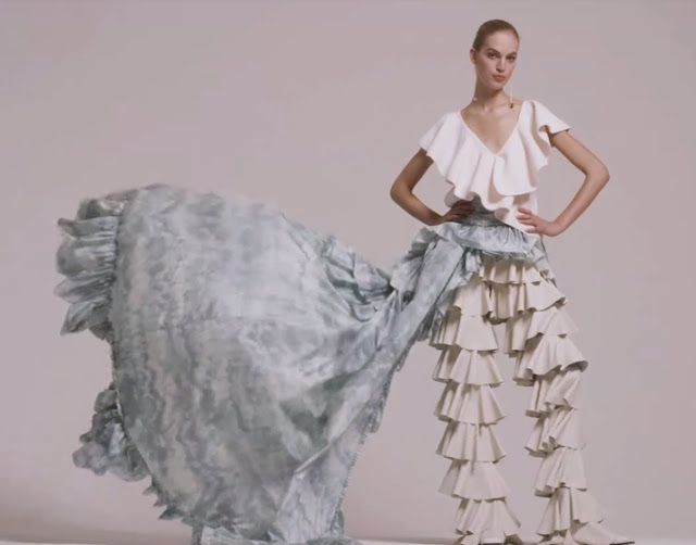 trendssoul by özlem (yan) devrim: VOGUE - Holiday Dressing's New Frilly Secret!