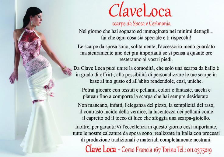 Clave Loca  #scarpedasposa