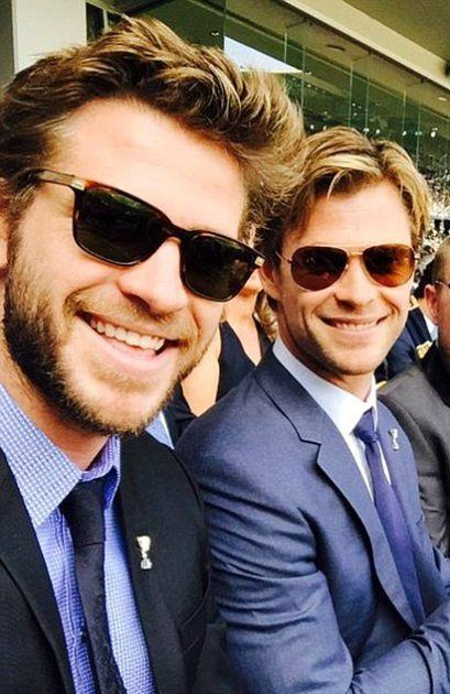 Double trouble! Chris and Liam Hemsworth make quite the memorable case for brotherly love – and good sportsmanship.