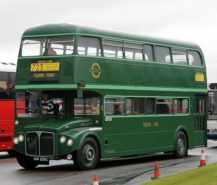 images of greenline buses | Bus and Coach Photos - Green Line 723 to Tilbury Ferry