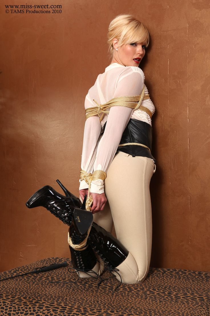 Galleries of women in bondage boots