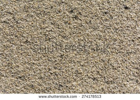 Sand is a natural material composed of finely divided rock and mineral particles