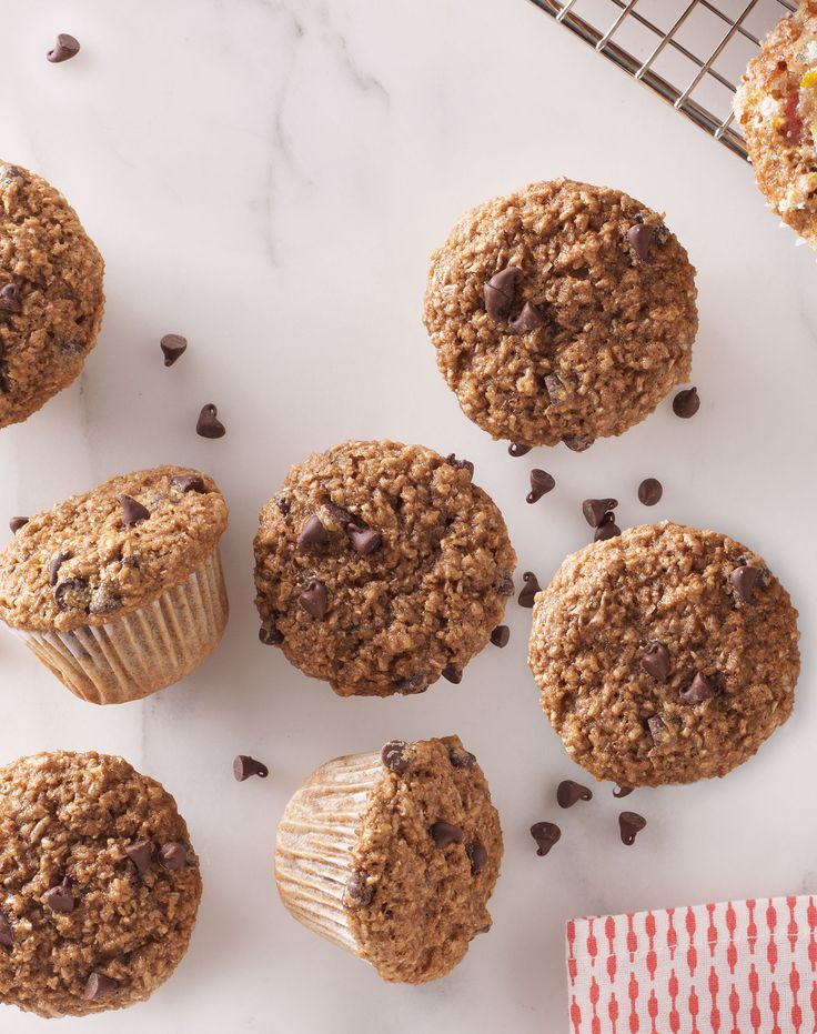 Basic (and surprisingly healthy!) muffins get an upgrade, with sweet chocolate chips and a little espresso for an extra boost. Recipe: Mocha Chip Muffins Related: Our Best Tips for Cooking Breakfast Staples   - Delish.com