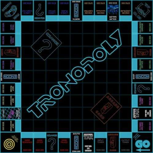 TRONOPOLY -- Sci-fi board game. A geeky way to Pass the Time