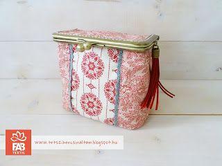 Fém keretes dobozka ~*~ Little box with metal purse frame