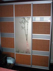 Панели из ротанга и бамбука