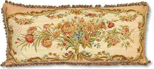 Silk Aubusson Tapestry Pillow by Richard Rothstein on HomePortfolio