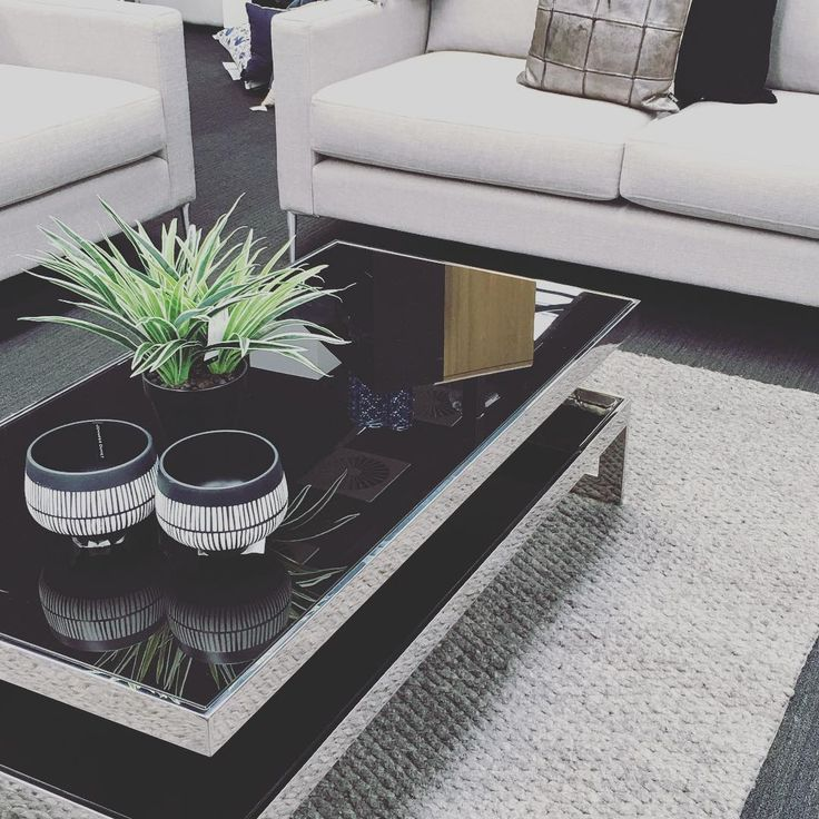 Stunning Carlson #coffeetable adds a touch of elegance to the living space.