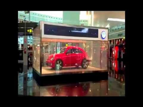 DreamGlass® Commercial applications; Volkswagen 2012 Beetle presentation