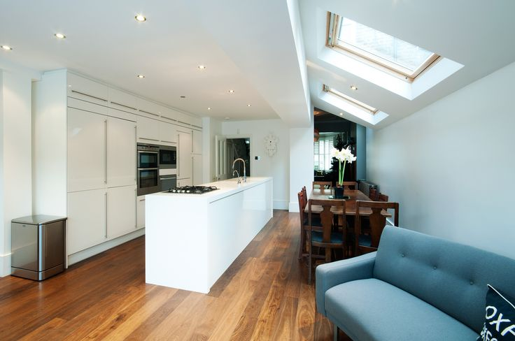 Side return extension in South West London