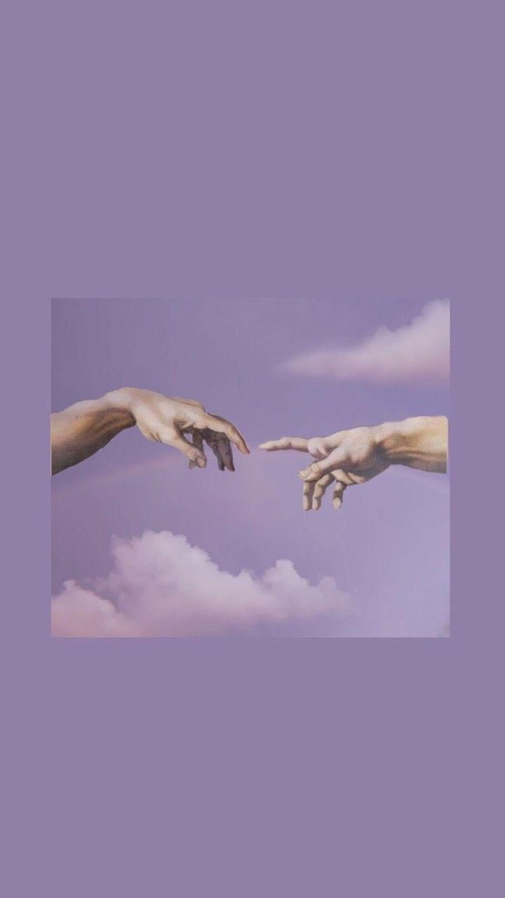 Pin Von Giovana Bartolassi Auf Purple Pastell Hintergrund Lila Hintergrunde Lila Asthetik