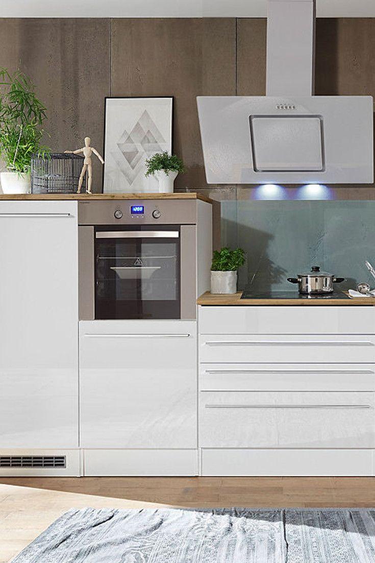 RESPEKTA Küchenzeile mit E-Geräten »Torin«, Gesamtbreite 17 cm