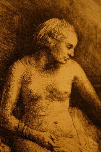Rembrandt van Rijn's work, Amsterdam, the Netherlands ( photo credits : Ingrid Jonkers ).