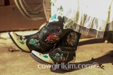 Double D Ranch / Lane Retro Rodeo Boots! Black & Turquoise! http://www.cowgirlkim.com/double-d-ranch-lane-retro-rodeo-boots-7130.html