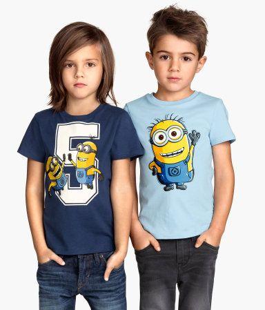 Minions t-shirt @ H&M DK #fisketorvet #copenhagenmall #børnemode