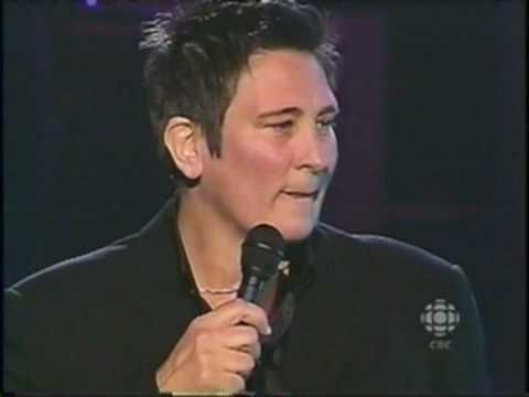 "KD LANG's performance of Leonard Cohen's ""Hallelujah"" at the Canadian Songwriters Hall of Fame induction of Leonard Cohen in 2006."