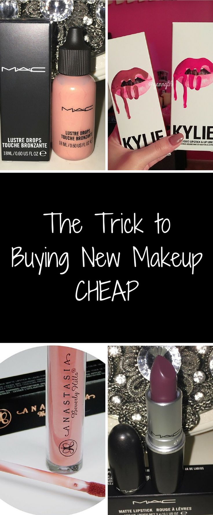 Shop all new cosmetics at up to 70% off retail prices. Click image to get the free Poshmark app now. Don't miss out on the sale!