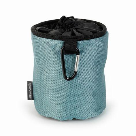 Мешок для прищепок Характеристики: Цвет:  Мятный/Черный/Синий Гарантия:  2 года Высота:  28,0 см Ширина:  17,5 см Глубина:  18,0 см