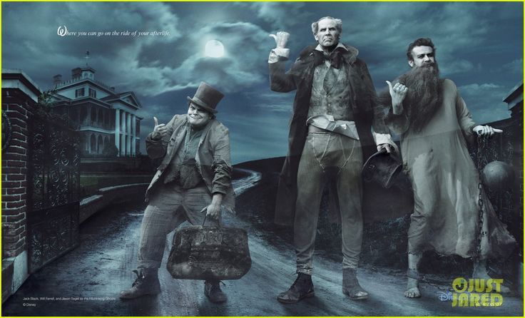 Black, Ferrell, Segal:Ghosts in Disney Parks Ad Campaign!Hitchhikers Ghosts, Annieleibovitz, Disney Dreams, Haunted Mansions, Jason Segel, Annie Leibovitz, Will Ferrell, Jack Black, Disney Character