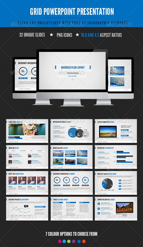 13 best powerpoints images on pinterest presentation layout website template business cards flyers grid uxui designer templates advertising lipsense business cards role models toneelgroepblik Choice Image