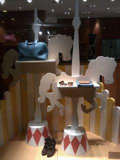 carousel horse in window display - Google Search