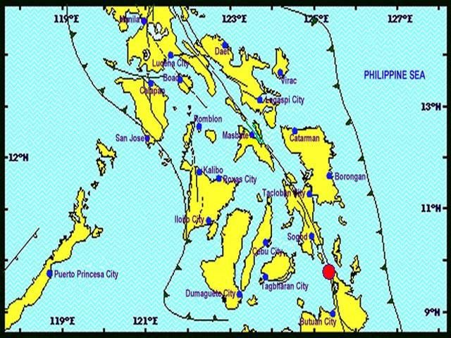 Elderly Surigao resident dies of cardiac arrest after mag-5.9 aftershock  An elderly resident of Surigao City died of cardiac arrest following a magnitude-5.9 earthquake on Sunday morning. A report by the Philippine Information Agency identified the victim as Socorro Cenes, 65, resident of Narciso corner Lopez Jaena streets.