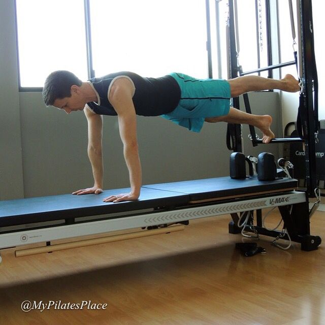 1000 images about pilates workout the reformer on for Gimnasio cardio pilates