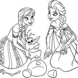 elsa headshot coloring pages - photo#36