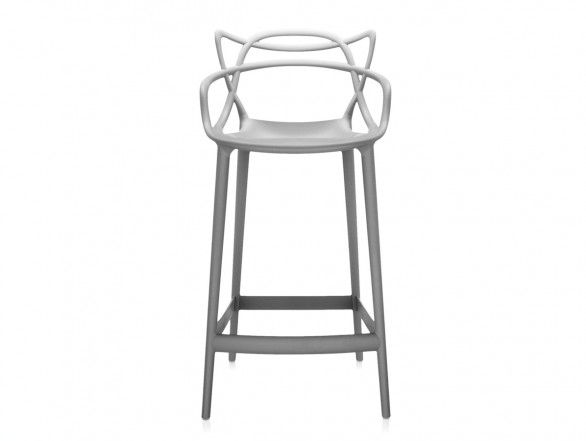 Kartell Masters Bar Stool Grey
