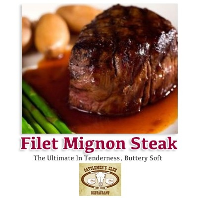 Filet Mignon Steak    The Cattlemen's Club Restaurant