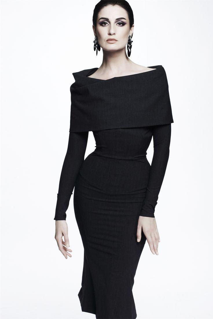 Sfilata Zac Posen New York - Pre-collezioni Primavera Estate 2013 - Vogue: Fashion, Style, Black Dresses, Zac Posen, Clothing, Posen Resorts, Resorts 2013, Zacposen, Resort2013
