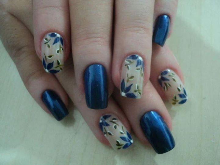 diseo y decoracin de uas unhas nails blue azules 2016 2017
