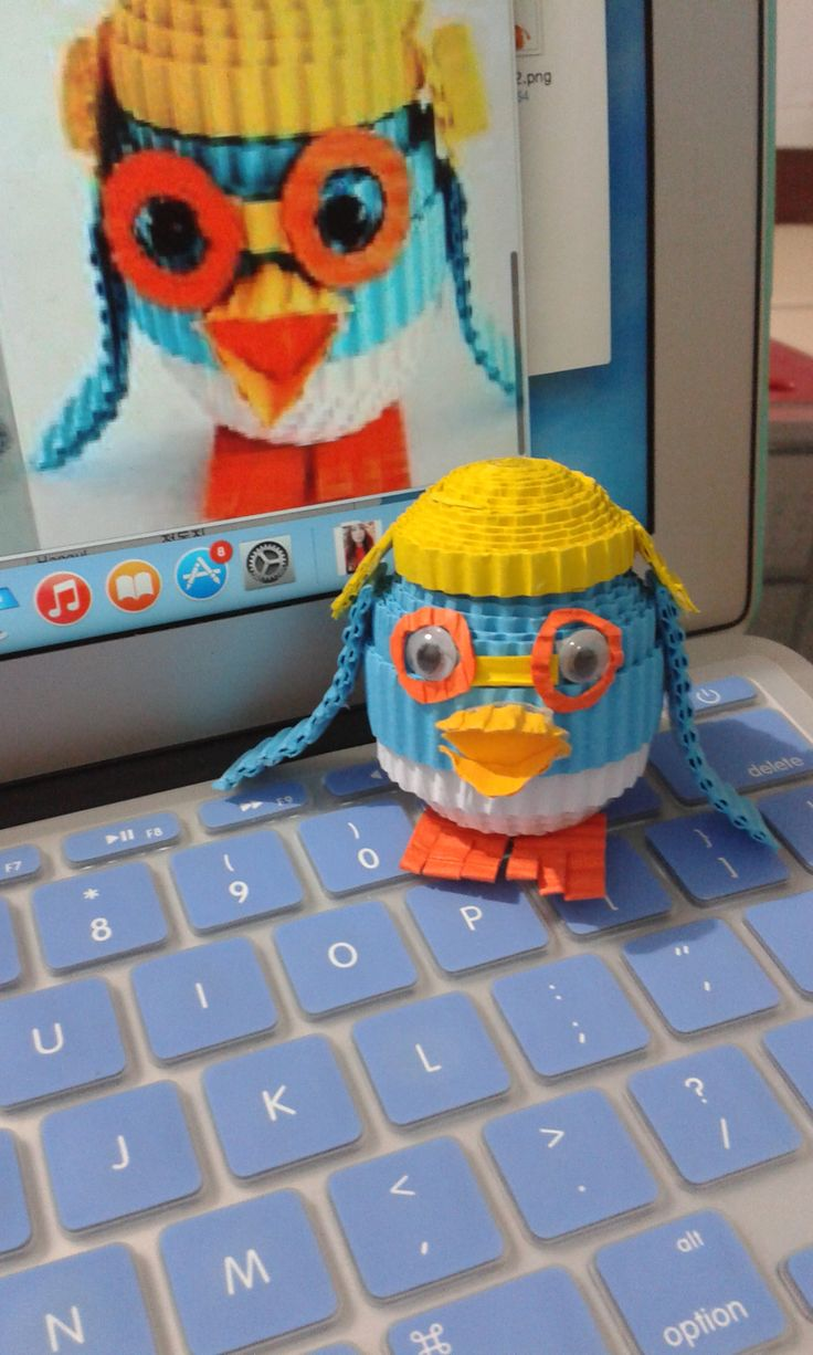 Mini Pororo #kokoru #pororo #craft