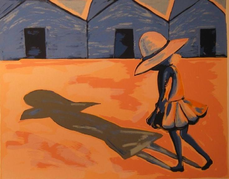 charles Blackman, 'the shadow'