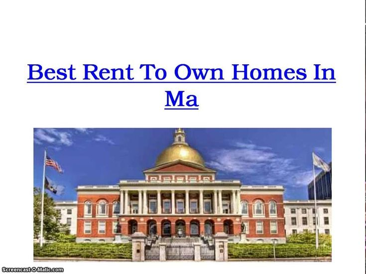 If you're looking for rent to own homes in Massachusetts, I am going to share with you one of the best sources you can use to get instant access to thousands of home lease listings in your area. Using this source will prevent you from having to spend hours and days trying to sift through hundreds of home listings in hopes of finding one that offers home owner financing. Visit: http://renttoownoptions.gr8.com to get access to rent to own homes listings in Ma.