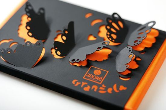 Adoré Chocolate Packaging by Coba & Associates