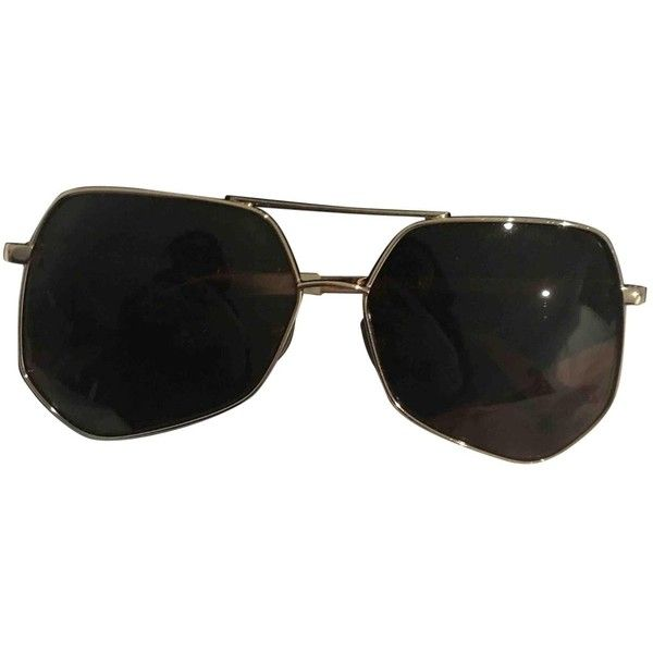Pre-owned Grey Ant Oversized Sunglasses (890 BRL) ❤ liked on Polyvore featuring accessories, eyewear, sunglasses, brown, oversized glasses, grey ant glasses, oversized sunglasses, brown oversized sunglasses and grey ant sunglasses