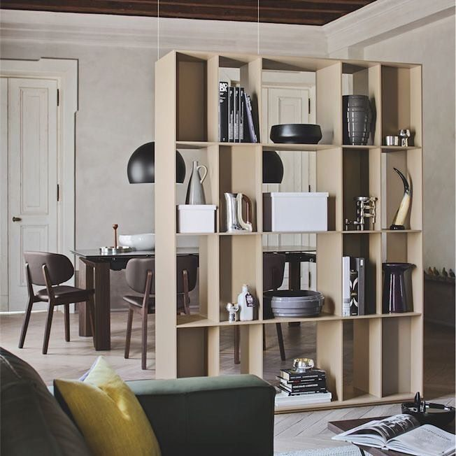 Division Free Standing Room Divider Bookcase Double Sided Bookcase Suitable For Separating The R Fabric Room Dividers Wooden Room Dividers Living Room Divider