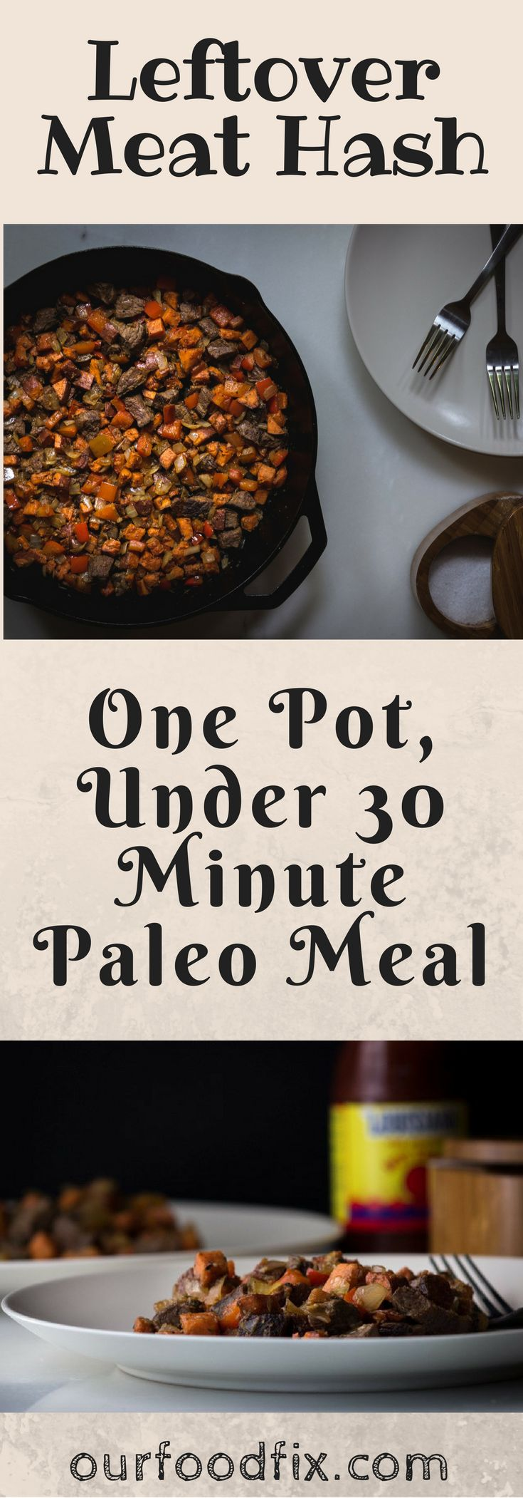 Perfect for a quick weeknight dinner, this Whole30 compliant one-pan meal is savory, smoky, and satisfying.