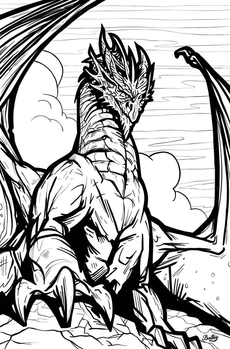 Get your FREE Dragon Colouring Book - visit https://bluefoxcomics.com/dragons