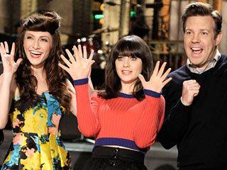 Zooey Deschanel is so cute! She's hosting SNL tonight (2/11/12).