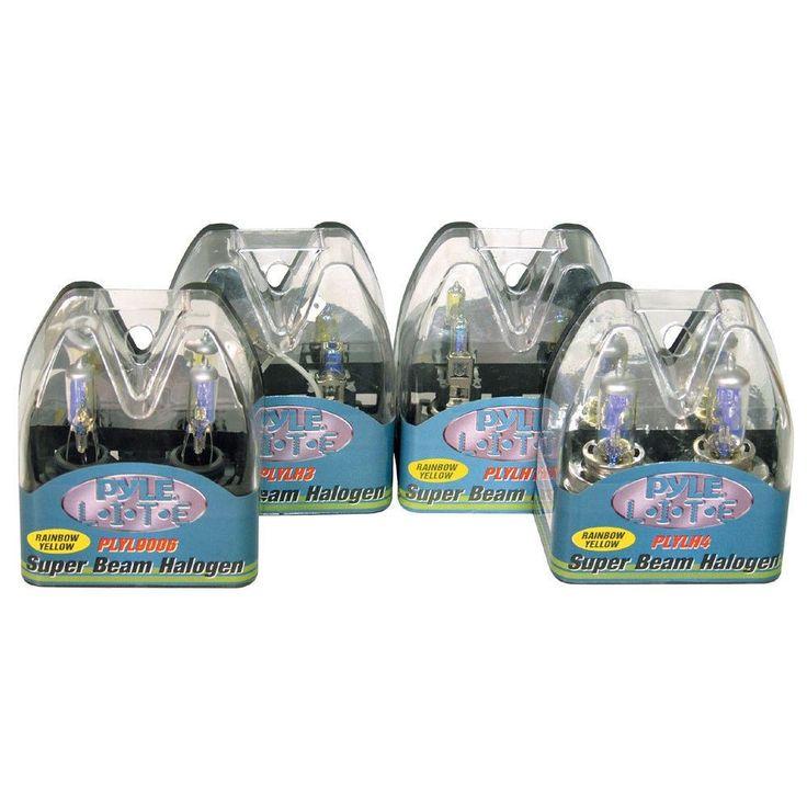 Pyle PLYLH7 55-watt Halogen Headlight Bulbs