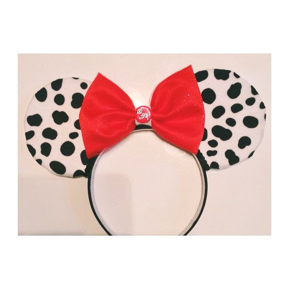 101 dalmations mouse ears. mickey ears #mickeymouse #minniemouse #mouseears