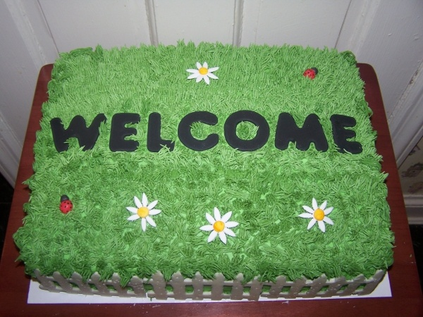 Housewarming Cake Idea