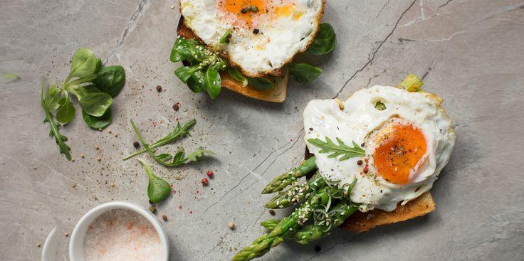 I Quit Sugar - Simple Eggs + Veg breakfast recipe.
