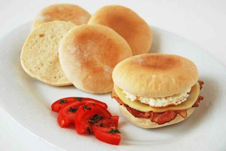 English muffin azaz angol zsemle                 MOHA KONYHA