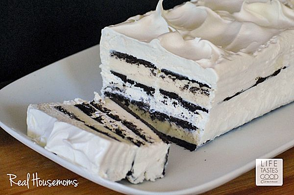 Easy Ice Cream Sandwich Cake is the easiest cake you probably aren't making, but should be! And it only takes about 10 minutes to assemble!