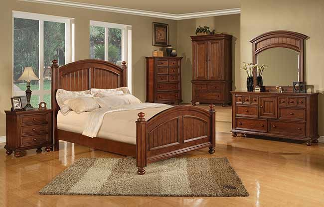 Winners Only Cape Cod in Chocolate Bedroom Collection