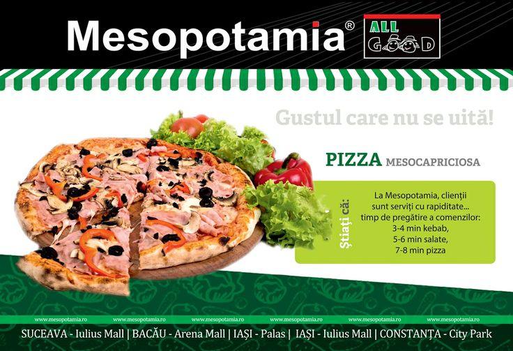 Pizza Mesocapriciosa.